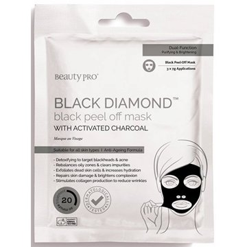 Beauty Pro Black Diamond Black Peel-off Mask
