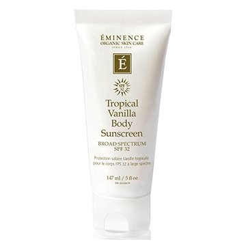 Tropical Vanilla Body Cream SPF 32